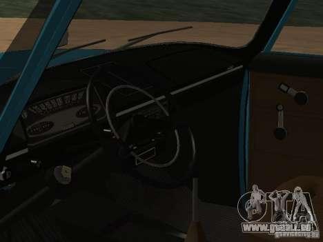 IZH 2125 v2 pour GTA San Andreas vue arrière