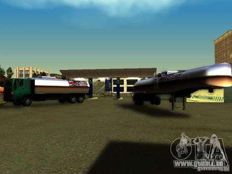 DFT-30 c réservoir pour GTA San Andreas vue de droite