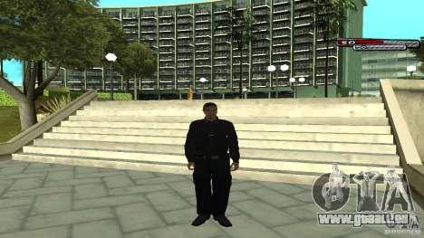 Agent de police pour GTA San Andreas quatrième écran