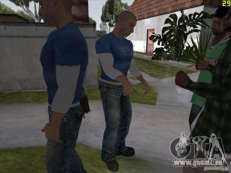 Vin Diesel für GTA San Andreas her Screenshot