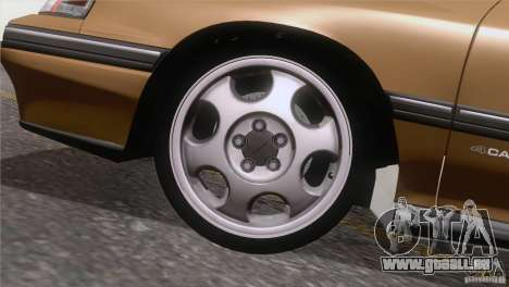 Subaru Legacy RS für GTA San Andreas Seitenansicht