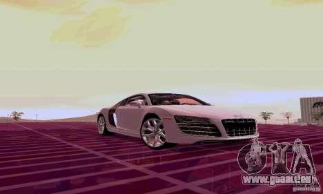 Audi R8 V10 5.2. FSI für GTA San Andreas linke Ansicht