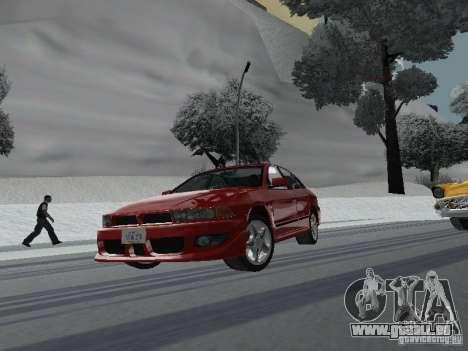 Mitsubishi Galant VR6 pour GTA San Andreas vue arrière