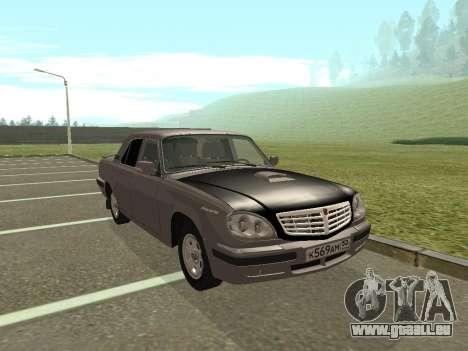 GAZ Wolga 31105 Neugestaltung für GTA San Andreas