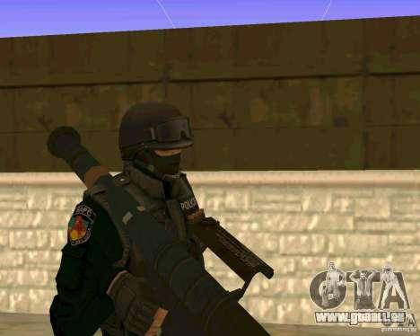 Die Haut der ukrainischen Spezialeinheiten für GTA San Andreas