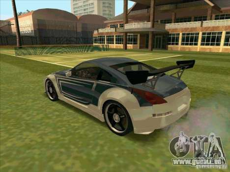 Nissan 350Z Chay from FnF 3 für GTA San Andreas linke Ansicht