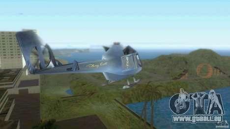 Sky Cat pour GTA Vice City sur la vue arrière gauche