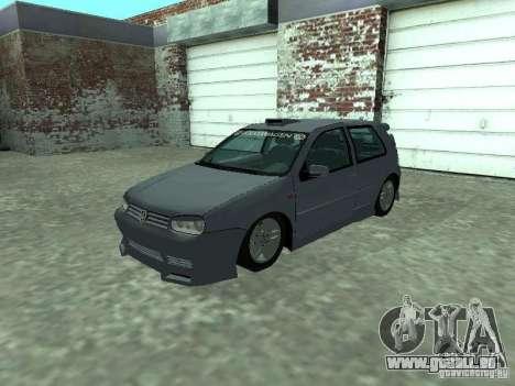 Volkswagen Golf IV für GTA San Andreas Innenansicht