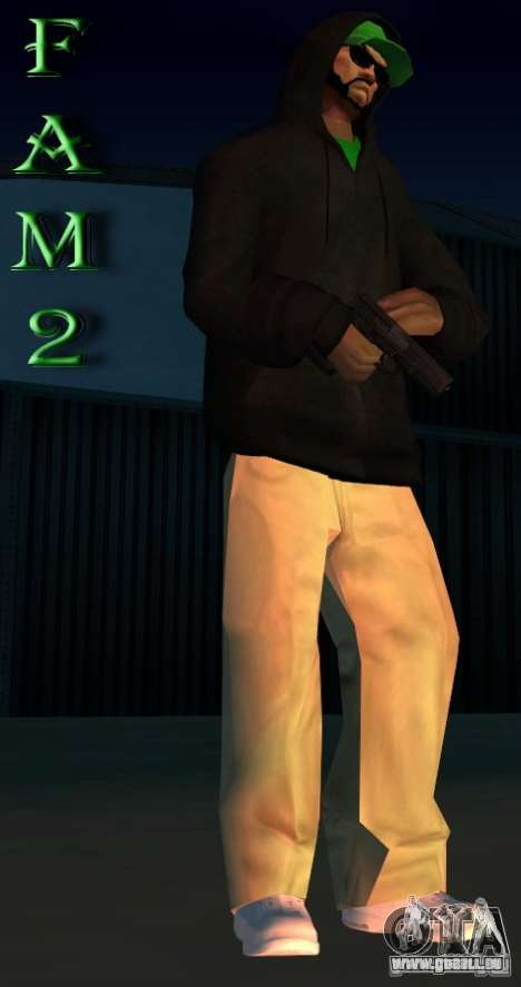 Mod pack by Grove v.1 für GTA San Andreas zweiten Screenshot