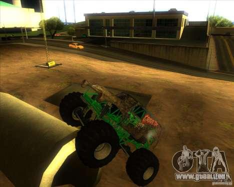 Grave Digger für GTA San Andreas rechten Ansicht
