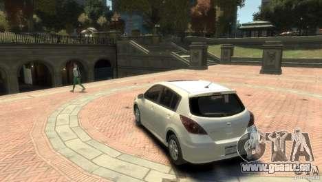 Nissan Versa SL pour GTA 4 est un droit