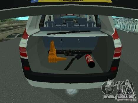 Renault Scenic II Police pour GTA San Andreas vue de côté