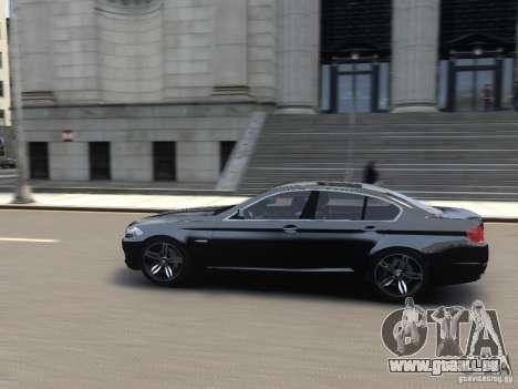 BMW 550i F10 für GTA 4 linke Ansicht
