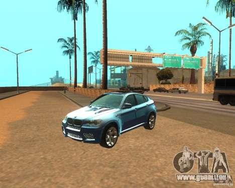 BMW Motorsport X6 M v. 2.0 pour GTA San Andreas