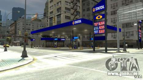 Statoil Petrol Station für GTA 4