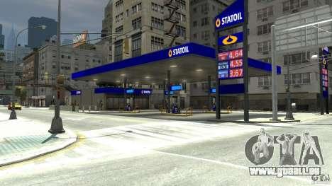 Statoil Petrol Station pour GTA 4