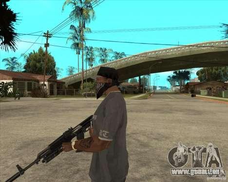 AKS-74 m avec GP-25 pour GTA San Andreas deuxième écran