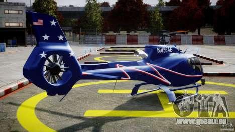 Eurocopter EC130B4 NYC HeliTours REAL für GTA 4 Seitenansicht