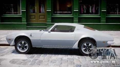 Pontiac Firebird Esprit 1971 für GTA 4 hinten links Ansicht