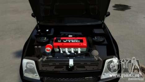 Honda Prelude SiR VERTICAL Lambo Door Kit Carbon für GTA 4 Seitenansicht