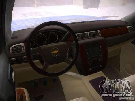 Chevrolet Silverado für GTA San Andreas rechten Ansicht