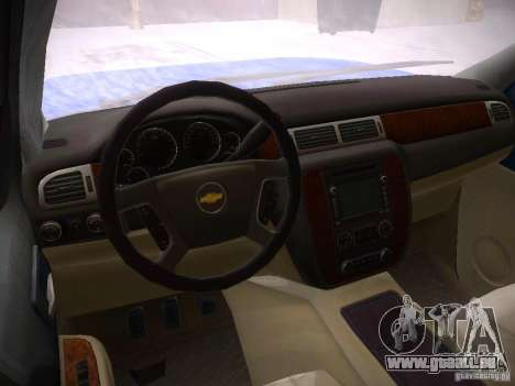 Chevrolet Silverado pour GTA San Andreas vue de droite