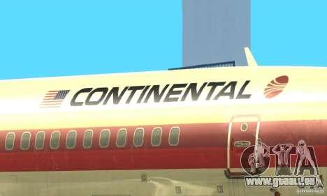Boeing 707-300 pour GTA San Andreas vue intérieure