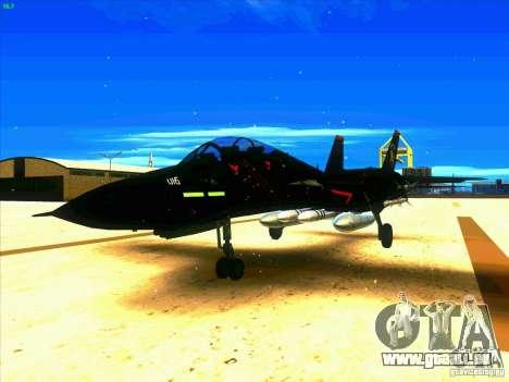 F-14 Tomcat Razgriz pour GTA San Andreas