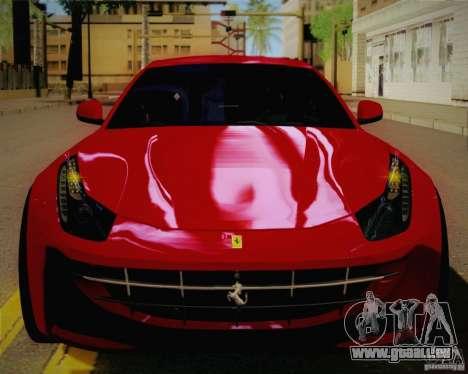 Ferrari FF Sport 2011 für GTA San Andreas Rückansicht