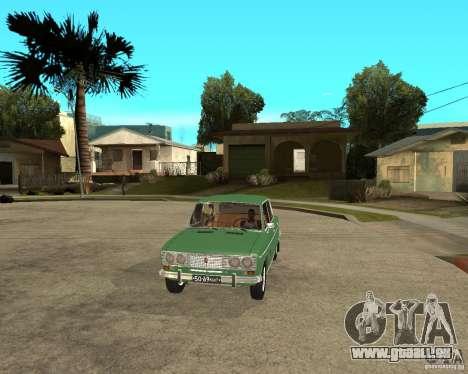 VAZ 2103 pour GTA San Andreas vue intérieure