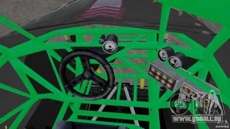 Grave digger für GTA 4 Rückansicht