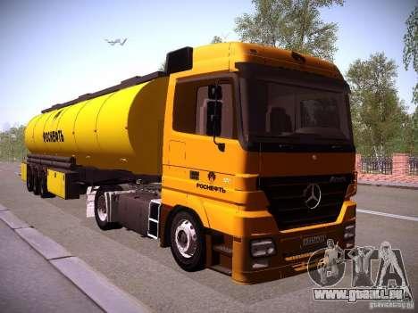 Mercedes-Benz Actros Rosneft für GTA San Andreas