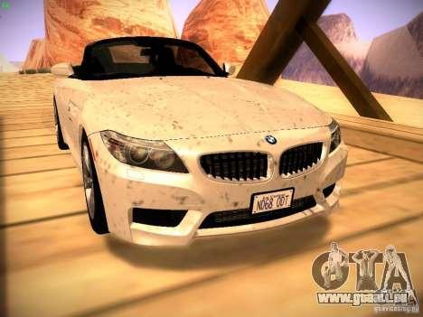 BMW Z4 sDrive28i 2012 pour GTA San Andreas vue de droite