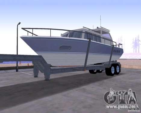 Boat Trailer pour GTA San Andreas