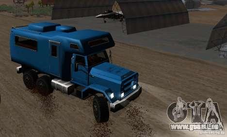 Journey 6x6 Enterable V1 pour GTA San Andreas laissé vue