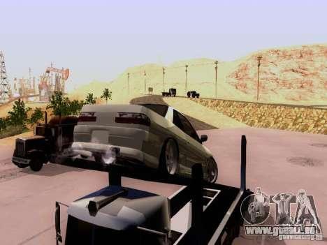 Nissan 240SX (S13) pour GTA San Andreas vue arrière