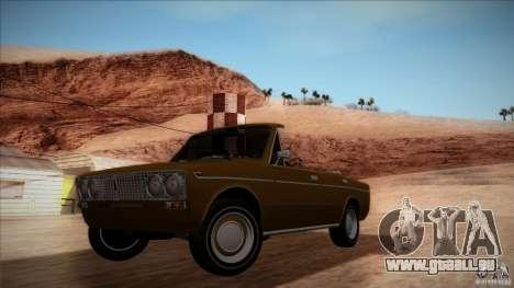 VAZ 2103 Convertible pour GTA San Andreas vue de côté