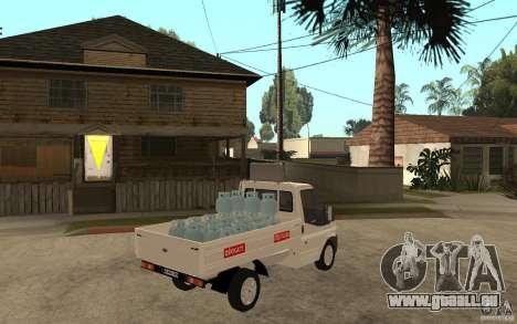 Ford Transit Pickup 2008 für GTA San Andreas rechten Ansicht