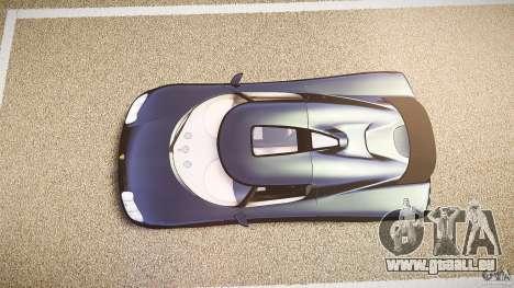 Koenigsegg CC8S 2002 pour GTA 4 est un droit