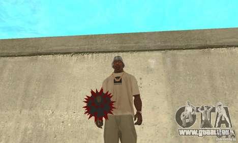 Mace pour GTA San Andreas deuxième écran