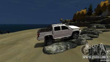 Chevrolet Avalanche 4x4 Truck pour GTA 4 Vue arrière