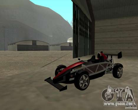 Ariel Atom V8 pour GTA San Andreas vue de droite