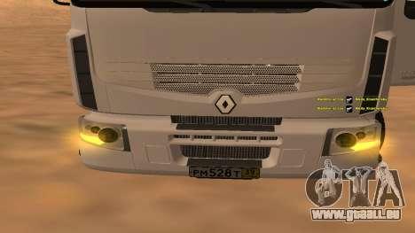 Renault Premium für GTA San Andreas zurück linke Ansicht
