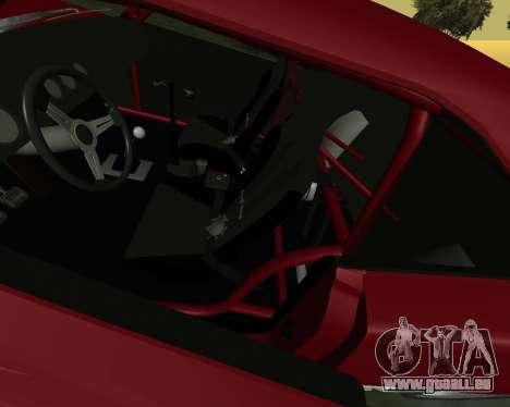 Dodge Charger Daytona für GTA San Andreas Rückansicht