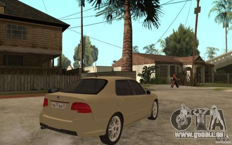 Saab 9-5 pour GTA San Andreas vue de droite