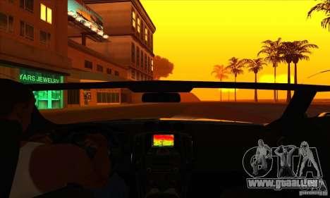 Nissan 370z Drift Edition pour GTA San Andreas vue de côté