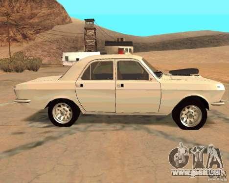 GAZ Volga 2410 Hot Road pour GTA San Andreas vue de côté