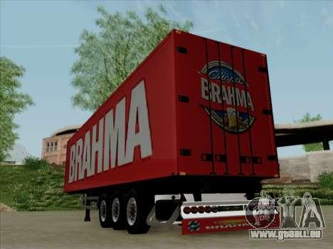 Trailer für Scania R620 Brahma für GTA San Andreas rechten Ansicht