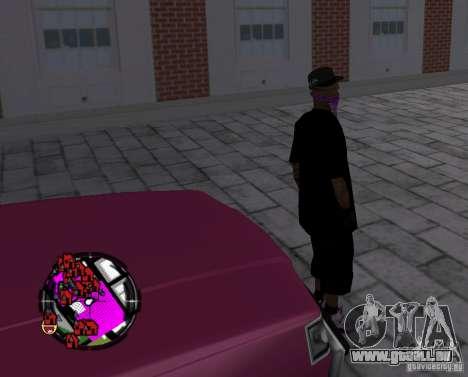 New Ballas Skin pour GTA San Andreas cinquième écran