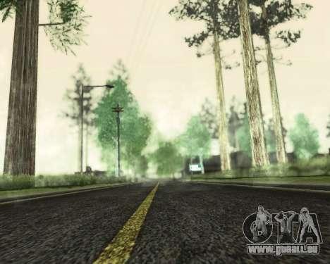 SA_NVIDIA v1.0 pour GTA San Andreas troisième écran